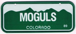 Colorado Bicycle License Plate 89