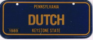 Pennsylvania Bicycle License Plate 89