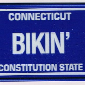 Connecticut Bicycle License Plate 90
