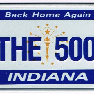 Indiana Bicycle License Plate 89