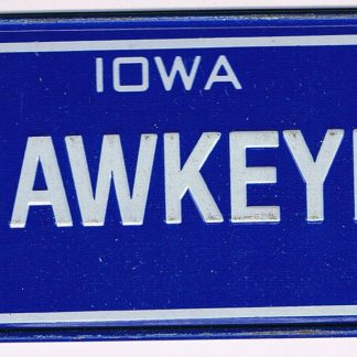 Iowa Bicycle License Plate 88