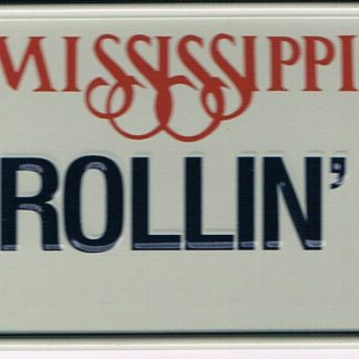 Mississippi Bicycle License Plate 90
