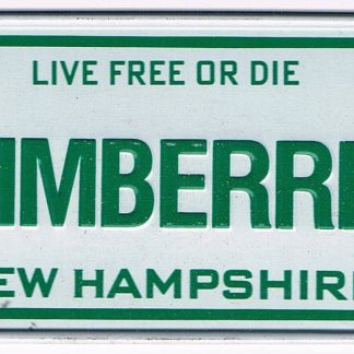 New Hampshire Bicycle License Plate 89