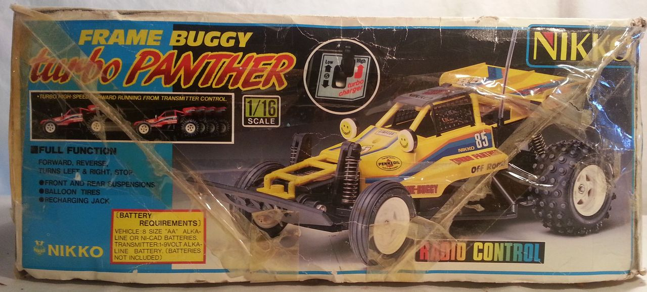 Nikko Frame Buggy Turbo Panther Box