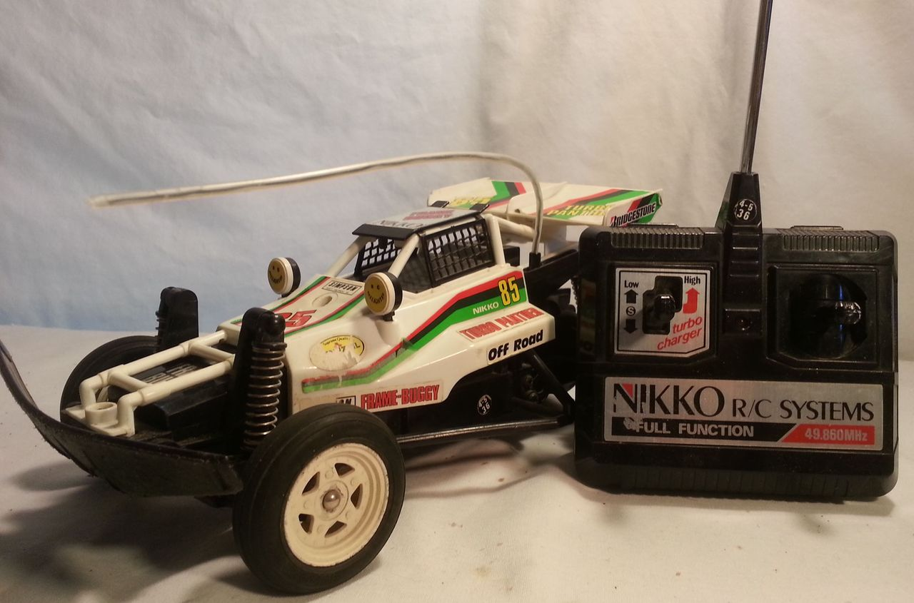 Nikko Frame Buggy Turbo Panther White 85