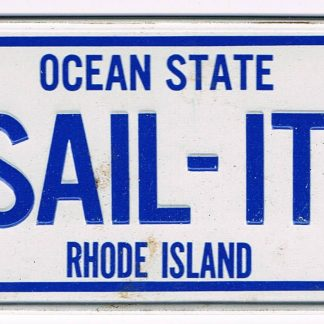 Rhode Island Bicycle License Plate