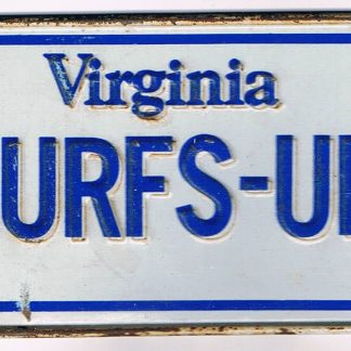 Virginia Bicycle License Plate 84