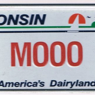 Wisconsin Bicycle License Plate 1990 Americas Dairyland